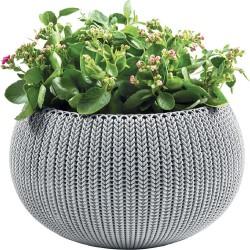 Горшок для цветов подвесной COZY M туманный серый