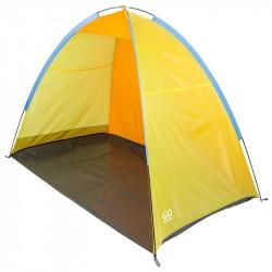 Тент пляжный GoGarden Maui Beach желтый/оранжевый 220см*130см*120см