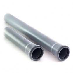 Труба ПП, O 50 мм, толщина стенки 1,8 мм 750 мм