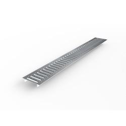 Решетка стальная штампованная Ecoteck 99 х13 см