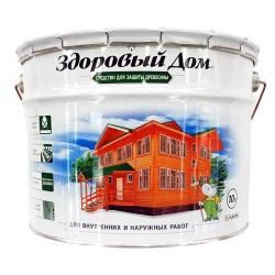 Деревозащитное средство Здоровый Дом 10,0л бесцветный