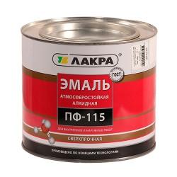 Эмаль ПФ-115 (Лакра) 1,9кг белый