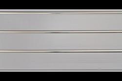 Панели ПВХ 3,0*0,24*0,008м 3-х секционные хром /Д/