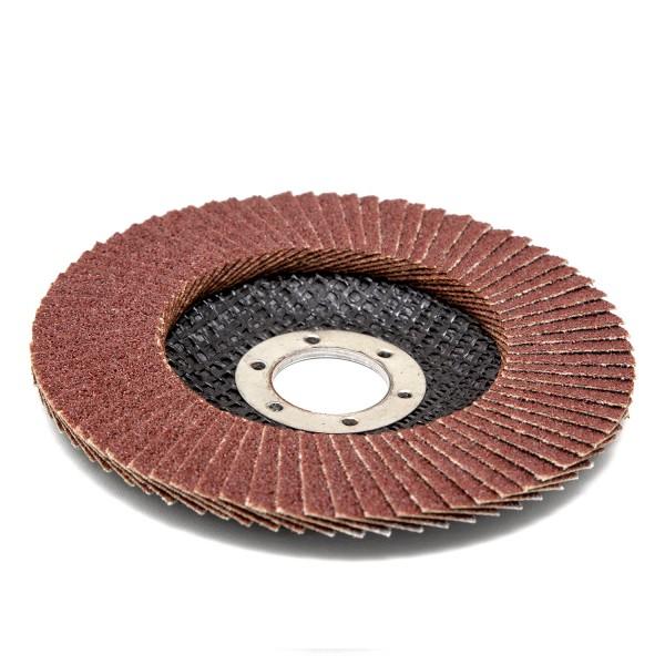 круг лепестковый торцевой для мшу 180*22мм р80 (луга)
