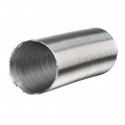 Канал-воздуховод гибкий гофрир. 150мм, алюминиевый до 3м, Вентс