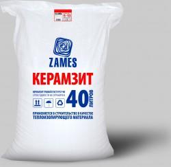 Керамзит фракции 5-10 ZAMES, 24 кг