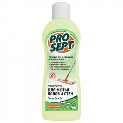 Концентрат для мытья полов и стен PROSEPT Multipower После дождя 0,8л 283-08