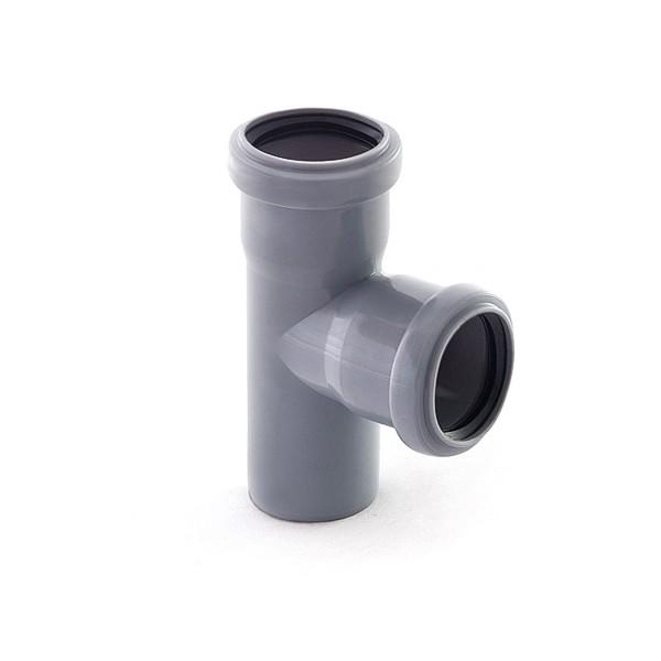 тройник канализационный 50/50/90°