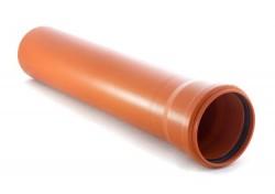 Труба гладкая, ПП, класс жесткости SN 4, O110 мм, S=3,4 мм 500 мм