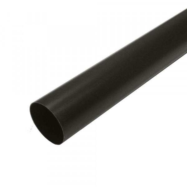 труба водосточная murol, цвет коричневый, 80 мм х 3м труба водосточная grand line пвх d120 87х3000 мм белая
