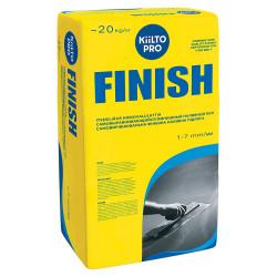 Пол наливной финишный самовыравнивающийся KIILTO FINISH, 20 кг