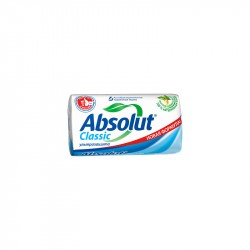 Мыло твердое Absolut CLASSIC Ультразащита антибактериальное 90г