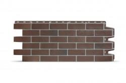 Фасадная панель Docke BERG, цвет коричневый, 0.44 м2
