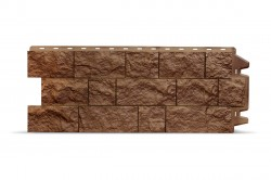 Фасадная панель Docke FELS, цвет ржаной, 0.45 м2