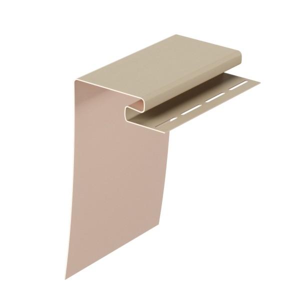 профиль околооконный docke premium, цвет крем-брюле, 3.6 м
