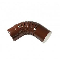 Колено, цвет шоколадно-коричневыйRAL 8017, d-100 мм
