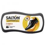 Губка для обуви SALTON Волна для кожи с норковым маслом, черный