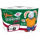 Бумага туалетная Linia Veiro Standart Plus 2-х сл. 4шт 960 листов