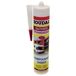 Герметик Soudal универсальный 300мл белый