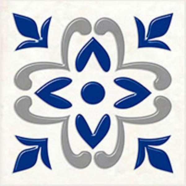 декор сиди-бу-саид синий 9,9х9,9