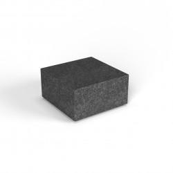 Фигура декоративная Flox Полукуб черный гранит