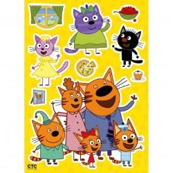 Декоретто Три кота: Семья котов LK 4901