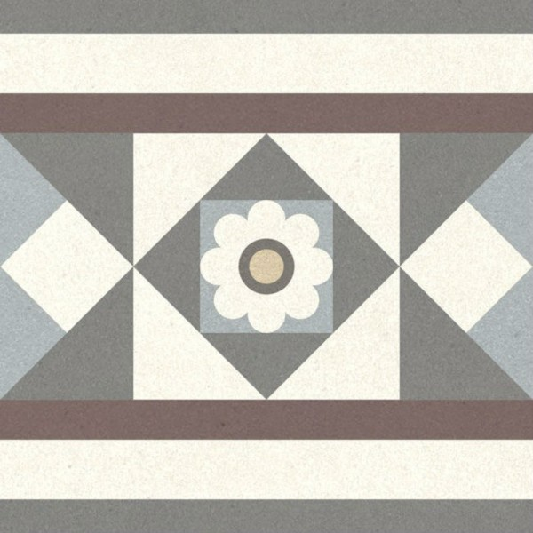 декор longo multi многоцветный 02 20х20 (22шт) керамический декор alta ceramica castelli ins idro canossa lux f 20х20 см
