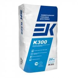 Шпаклевка универсальная гипсовая ЕК К300, 20 кг