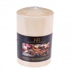Свеча-столбик ароматическая Kukina Raffinata Корица 56*80мм 202867