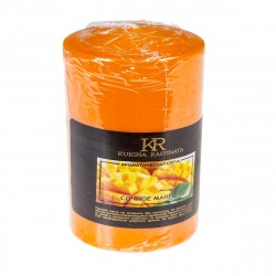 Свеча-столбик ароматическая Kukina Raffinata Сочное манго 56*80мм 202840