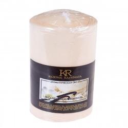 Свеча-столбик ароматическая Kukina Raffinata Французская ваниль 56*80мм 202804