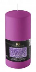 Свеча-столбик ароматическая Kukina Raffinata Горная лаванда 56*120мм 202928
