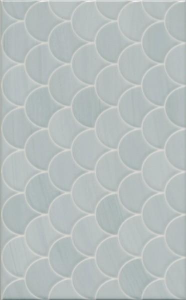 керамическая плитка 25х40 сияние голубой структура