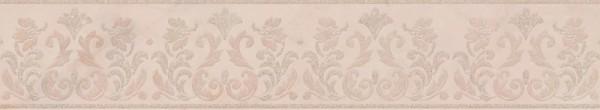 керамический бордюр 40,2х7,7 флораль