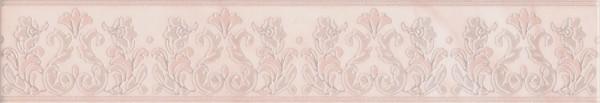 керамический бордюр 40х7,2 флораль