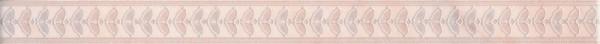 керамический бордюр 40х3 флораль