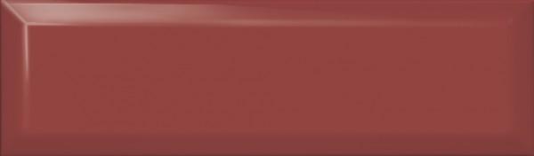 керамическая плитка 8,5х28,5 аккорд бордо грань