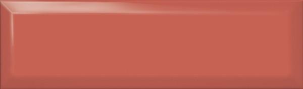 керамическая плитка 8,5х28,5 аккорд коралловый грань