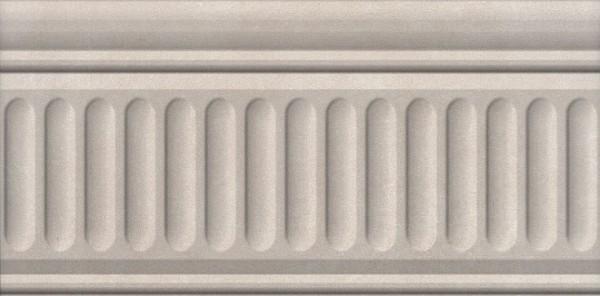 керамический бордюр 20х9,9 александрия светлый структурированный недорого