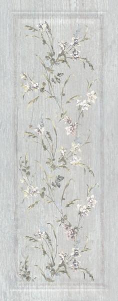 керамическая плитка 20х50 кантри шик серый панель декорированный недорого