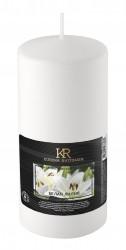 Свеча-столбик ароматическая Kukina Raffinata Белая лилия 56*100мм 202796