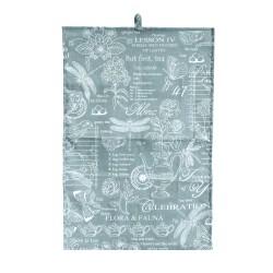 Полотенце кухонное 40*60 (рогожка арт. 30098-1 Версаль бирюза)