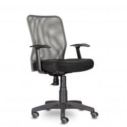 Кресло UTFC CH-320 Энтер T-01 Ср TW-72/E11-к (серый/черный)
