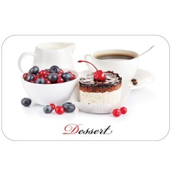 Салфетка сервировочная 26х41см Десерт ПВХ