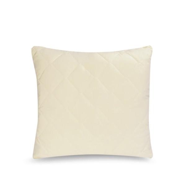 подушка стеганая руноколлекция natura размер 68*68 см.