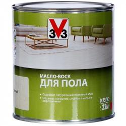 Масло-Воск д/пола V33 белый 0,75л