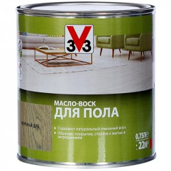 Масло-Воск д/пола V33 мор. дуб 0,75л