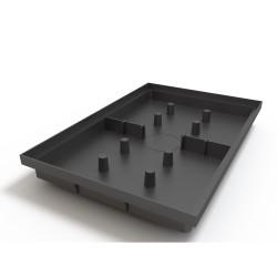 Поддон придверный Ecoteck цвет черный, 60 х 40 см