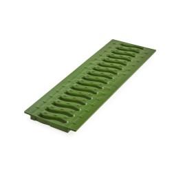 Решетка к лотку Ecoteck цвет зеленый папоротник, 49 х 13 см
