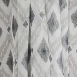 Тюль 43871 3.0х2.7м вуаль, серый